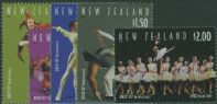 NZ SG2572-6 50th Anniversary of Royal New Zealand Ballet set of 5
